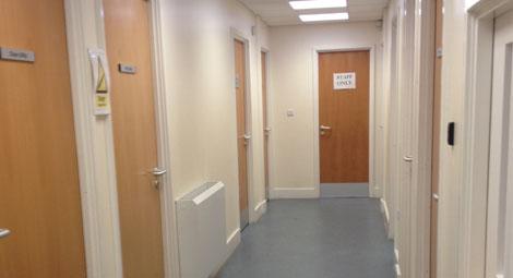Leander Family Practice corridor