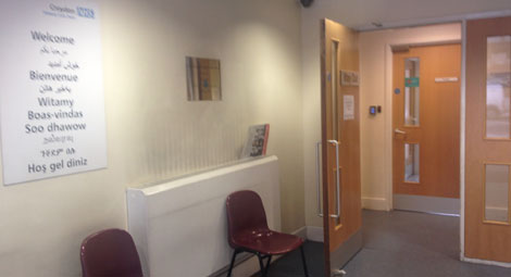 Leander Family Practice Waiting Room